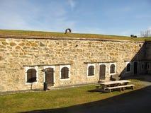 Fortezza di Kristiansten Fotografia Stock