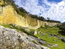 Fortezza di Kuelap, Chachapoyas, Amazonas, Perù. Fotografia Stock