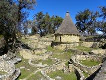 Fortezza di Kuelap, Chachapoyas, Amazonas, Perù. Immagine Stock