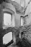Fortezza di Landsee Fotografie Stock
