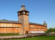 Fortezza di legno Fotografia Stock