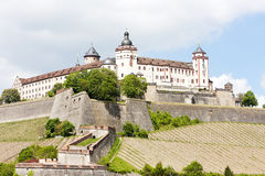 Fortezza di Marienberg Fotografia Stock Libera da Diritti