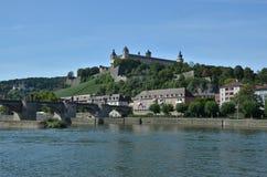 Fortezza di Marienberg del rzburg del ¼ di WÃ Fotografia Stock