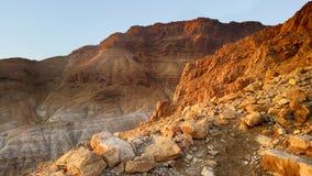 Fortezza di Masada Deserto di Judean Immagine Stock