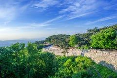 Fortezza di Namhansanseong in Corea del Sud immagini stock