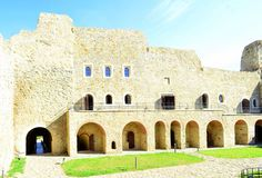 Fortezza di Neamt - Romania Immagini Stock Libere da Diritti