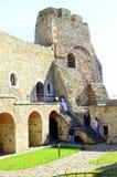 Fortezza di Neamt - Romania Immagine Stock