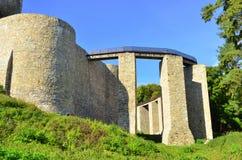 Fortezza di Neamt - Romania Fotografia Stock Libera da Diritti
