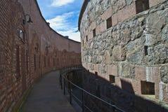 Fortezza di Oscarsborg (le difese) Fotografia Stock