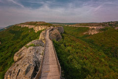 Fortezza di Ovech, Provadia, Bulgaria Immagine Stock Libera da Diritti