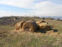 Fortezza di Petrichа vicino al villaggio Razdelna Immagine Stock