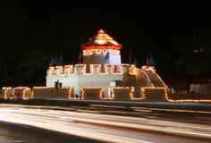 Fortezza di Phra Sumen Immagine Stock Libera da Diritti