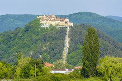 Fortezza di Rasnov, la Transilvania Romania Immagine Stock