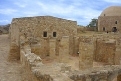 Fortezza di Rethymno Fotografia Stock
