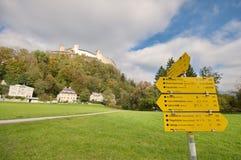 Fortezza di Salisburgo, Austria Immagine Stock Libera da Diritti
