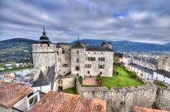 Fortezza di Salisburgo, Austria Fotografie Stock Libere da Diritti