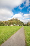 Fortezza di Salisburgo, Austria Fotografie Stock