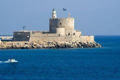 Fortezza di San Nicola Fotografia Stock
