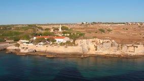 Fortezza di Sant Felip Mahon, Minorca, Spagna video d archivio