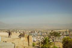 Fortezza di Santa Barbara, Alicante, Spagna Immagini Stock Libere da Diritti