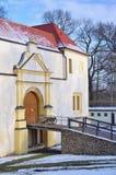 Fortezza di Senftenberg Fotografia Stock