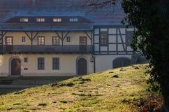 Fortezza di Senftenberg in Lusatia Immagini Stock Libere da Diritti