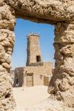 Fortezza di Shali Schali la vecchia città dell'oasi di Siwa nell'Egitto fotografia stock libera da diritti