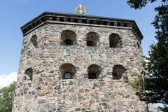 Fortezza di Skansen Kronan a Goteborg (Gothenburg), Svezia, Scandinavia fotografie stock