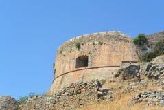 Fortezza di Spinalonga Fotografia Stock Libera da Diritti
