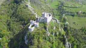 Fortezza di Srebrenik Immagine Stock