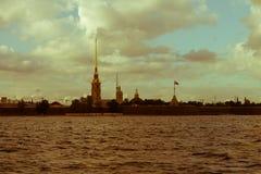 Fortezza di St Petersburg, di Peter e di Paul Immagini Stock