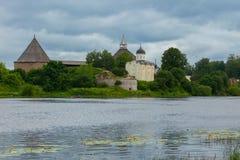 Fortezza di Staraya Ladoga Fotografia Stock Libera da Diritti
