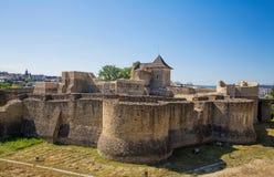 Fortezza di Suceava Fotografia Stock