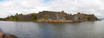 Fortezza di Suomenlinna Fotografie Stock Libere da Diritti