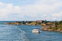 Fortezza di Suomenlinna a Helsinki Immagini Stock