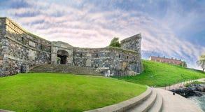 Fortezza di Suomenlinna a Helsinki, Finlandia Immagine Stock