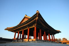 Fortezza di Suwon Immagini Stock
