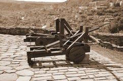 Fortezza di Tsarevets Fotografie Stock