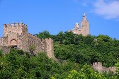 Fortezza di Tsarevets nella primavera Immagine Stock Libera da Diritti