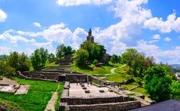 Fortezza di Tzarevetz, Veliko Tarnovo, Bulgaria Fotografie Stock