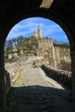 Fortezza di Veliko Tarnovo Fotografie Stock