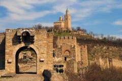 Fortezza di Veliko Tarnovo Fotografia Stock