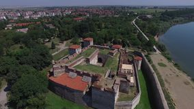 Fortezza di Vidin, Bulgaria stock footage