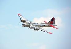 Fortezza di volo B-17 Immagine Stock
