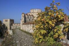 Fortezza di Yedikule Immagine Stock