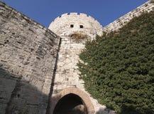 Fortezza di Yedikule Fotografia Stock