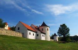 Fortezza di Zumberk Fotografie Stock