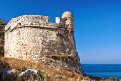 Fortezza em Rethymno Fotografia de Stock Royalty Free