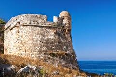 Fortezza en Rethymno Fotografía de archivo libre de regalías