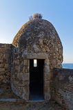 Fortezza fortress watchtower, Rethymno, Crete Royalty Free Stock Photo